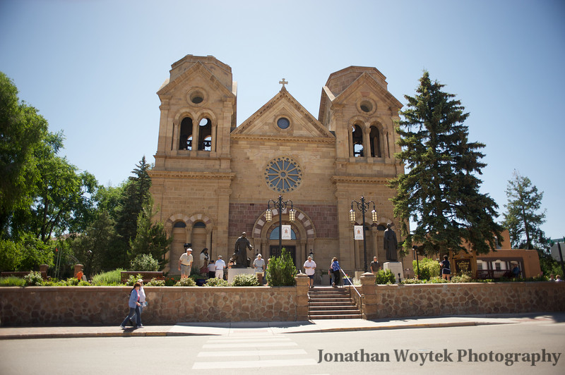 St. Francis Cathedral, Santa Fe, New Mexico.