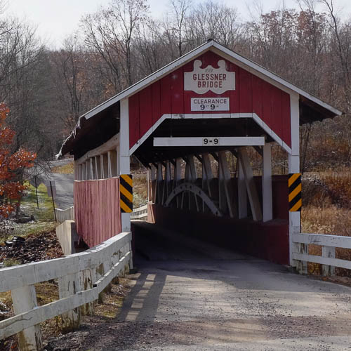 Glessner Covered Bridge