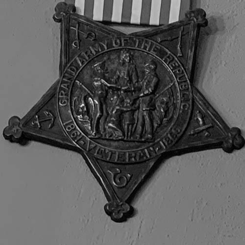 The Civil War Room. Andrew Carnegie Free Library & Music Hall, Carnegie, PA. November 25, 2019. (Photo: Jenny Gaffron Woytek)