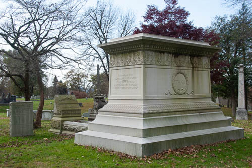 Thaw Family Plot, Allegheny Cemetery, Pittsburgh PA