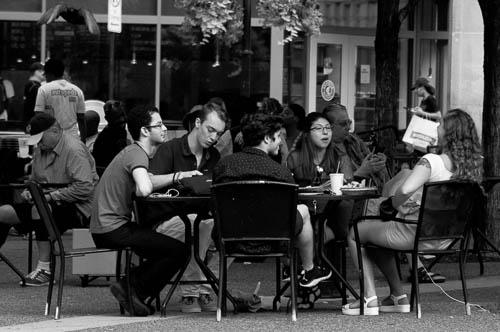 Market Square. Pittsburgh, Pennsylvania.