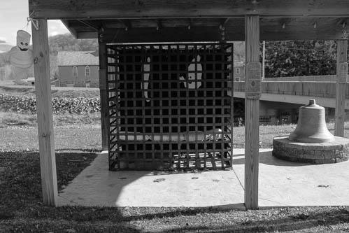 Vintondale's Single Cell Jail. Vintondale, Pennsylvania.