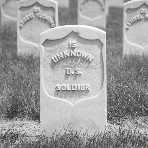 Unknown U.S. Soldier grave.